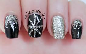 new year u0027s eve party nails youtube