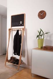 declutter your entryway with this bentwood organizer freshome com