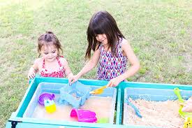 Water Table Toddler How To Make A Sand And Water Table