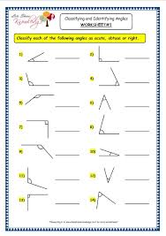 grade 3 maths worksheets 14 7 geometry classifying and