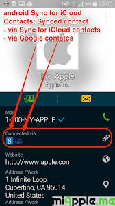 apple icloud for android android how to sync icloud contacts with android phones and