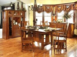 dining chairs amish oak dining room table and chairs heidelberg