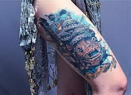 more studio ghibli tattoo howl moving castle tattoos 5559583 top