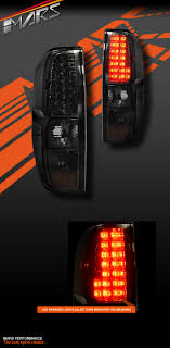 how to make custom led tail lights smoked black led tail lights for nissan navara frontier d40 05 14
