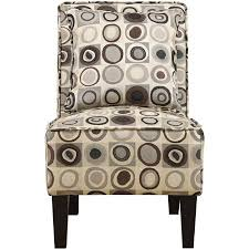 Accent Chair Set Of 2 Attractive Armless Accent Chair With Handy Living Dani Armless