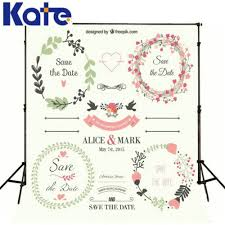 wedding backdrop size only 25 00 white photographic backdrops custom name date size