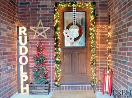2014 christmas home tour little red brick house