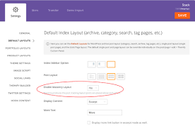 wordpress search layout stack themify