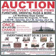 auction kingsville visitors center