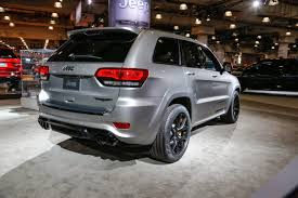 jeep grand cherokee 2017 blacked out the 2018 jeep grand cherokee trackhawk is an suv that runs 11 second