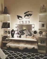 bedroom makeup vanity bedroom vanities with lights mirror