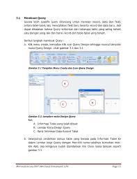 membuat query tabel ms access 2007 oleh yusuf virmansyah smk sejahtera