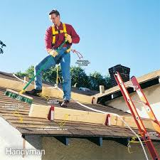 how to properly use a roof safety harness family handyman