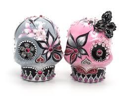 skull cake topper skull wedding cake toppers skull lover wedding cake topper 0073