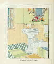 Bathroom Ideas Vintage Colors 28 Best Bathroom Original 1930 U0027s Images On Pinterest Art Deco