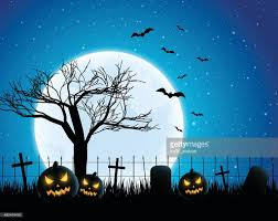 the halloween tree background halloween background vector art getty images