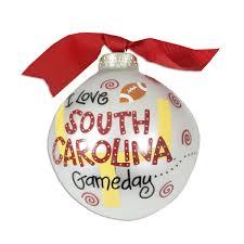 south carolina gamecocks gameday ornament usc