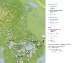 Map Of Animal Kingdom Festival Of Fantasy Ellen Daily