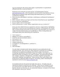Accomplishment Words For Resume Power Words To Perfect Your Resume
