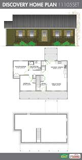discovery 2 bedroom 1 bathroom home plan features open concept