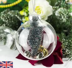 plastic christmas tree ornaments ebay
