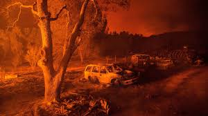 Wildfire Evacuation Stages by Extreme And Aggressive U0027 California Wildfires Force Thousands To