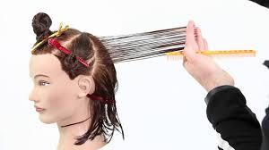 how to cut a medium bob haircut how to cut a medium length layered choppy bob haircut like