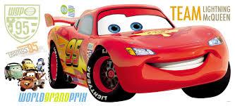 Lightning Mcqueen Rug Room Mates Disney Pixar Cars Giant Wall Decal U0026 Reviews Wayfair