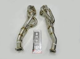 nissan 370z long tube headers amazon com obx performance exhaust header 09 14 nissan 370z