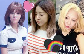 kpop idol who are rocking the short hair look youtube