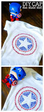 diy captain america star shield shirt the love nerds
