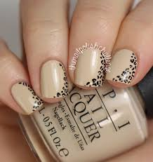 classy leopard print inspired by reinovate the nail polish