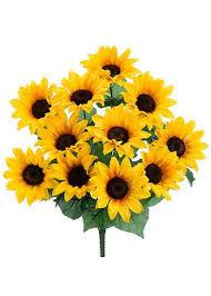 artificial sunflowers artificial sunflowers sunflower weddings silk flowers at afloral