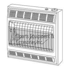 vp2800btd vanguard inrared vent free gas heater