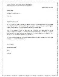 donor thank you letter example resume building electrician
