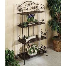plant stand unusual metal plant shelves photo design popular buy