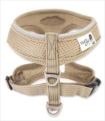 my curli plush air mesh basic dog harness g w