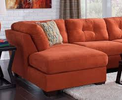 sofa mesmerizing great orange sectional sofa fit for best family