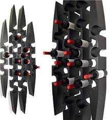 pinna wall mounted wine racks blue grouse wine cellar