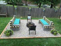 Building A Firepit In Backyard 15 Outstanding Cinder Block Pit Design Ideas For Outdoor