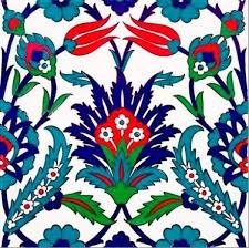 Ottoman Tiles Turkish Floral Ceramic Wall Tiles