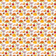 thank you thanksgiving happy thanksgiving food seamless pattern vector stock vector art
