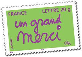 timbre poste mariage où trouver le timbre merci en 2014 pour expédier vos