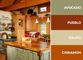 best kitchen color with light brown cabinets this green beige and brown kitchen color scheme is the