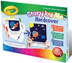 amazon com crayola story by me hardcover kit toys u0026 games