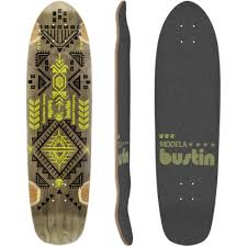 bustin modela bustin modela 33 longboard skateboard custom complete muirskate