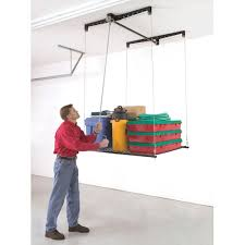 Garage Ceiling Storage Systems by Heavy Lift Retractable 4x4 250 00 Thoughts On Organizing