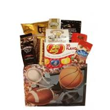 sports gift baskets sports themed gift baskets to send gift with a basket canada