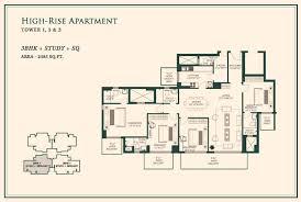 Bonanza House Floor Plan by Indiabulls One Realty Bonanza