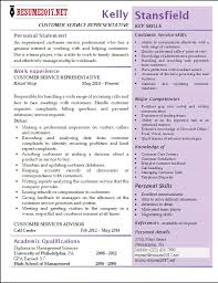 Customer Service Resumes Examples by Resume Examples For Customer Service Position Call Center